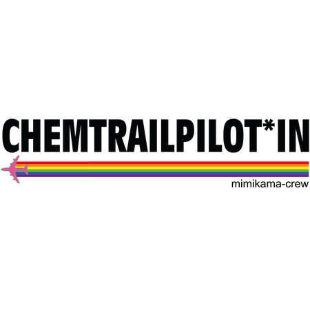 Hoodie Chemtrailpilot*in